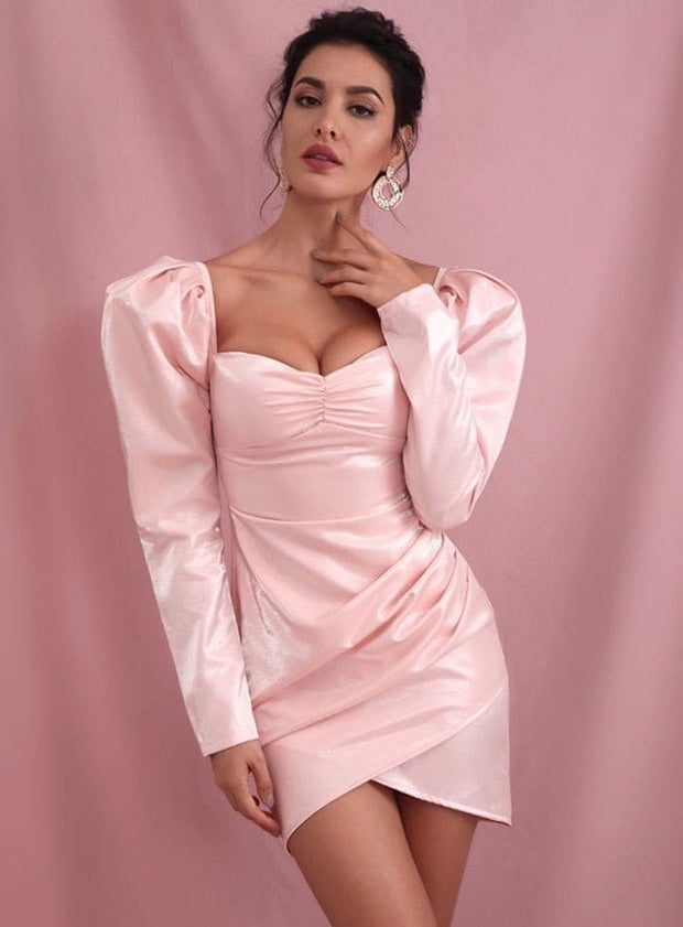 Long Sleeve Dress in pink from Bloom collection