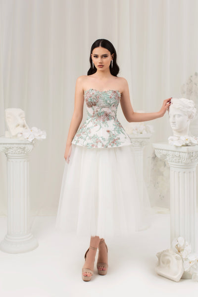 LUCY CORSET & SKIRT - Amelie Baku Couture