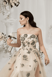Senorita Embelished Tulle Gown