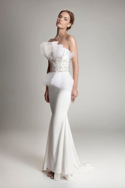 SOFINA GOWN - Amelie Baku Couture