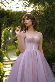 Sparkling corset dress by Amelie Couture