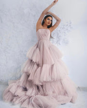 Josephine Gown-Peony Collection- By Amélie-Blush Pink