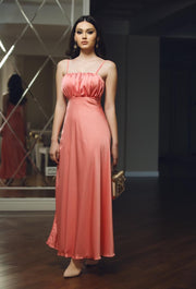 Satin Maxi Dress from Bloom collection