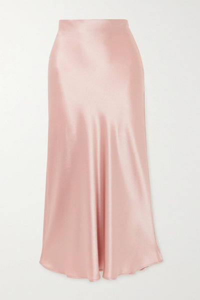 Amelie's Rose Nude midi skirt - Amelie Baku Couture