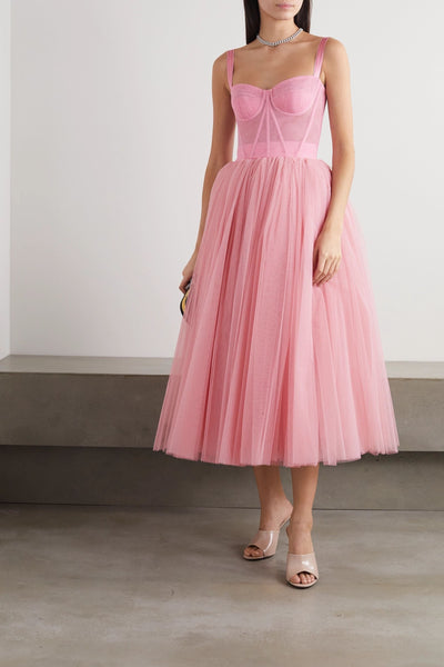 Tulle midi dress from Bloom Collection