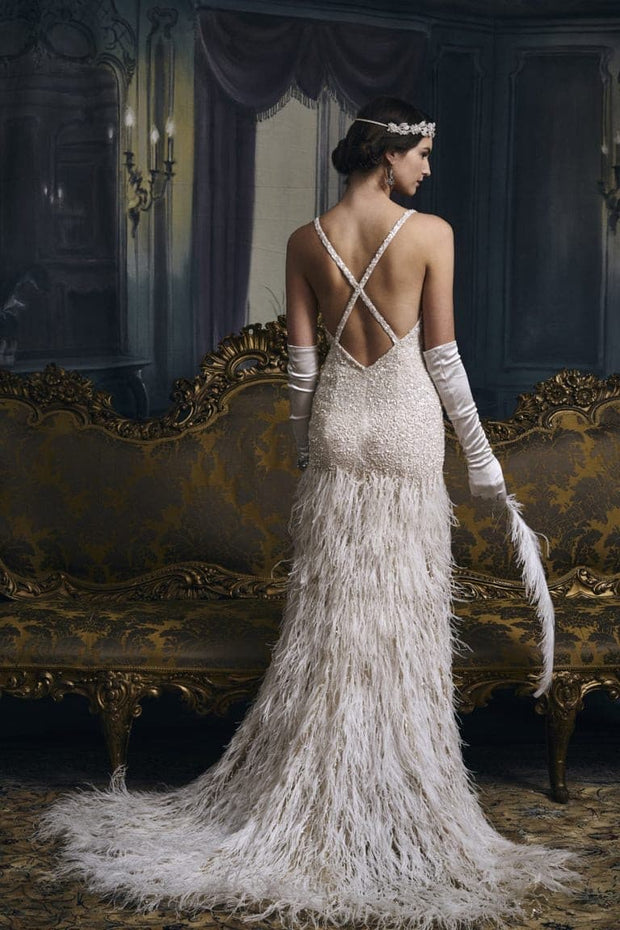 Great Gatsby Inspired Bridal