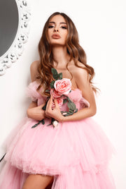 Pink Dream Gown  by Amèlie Couture