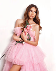 Pink Dream Gown  by Amèlie Couture - Amelie Baku Couture