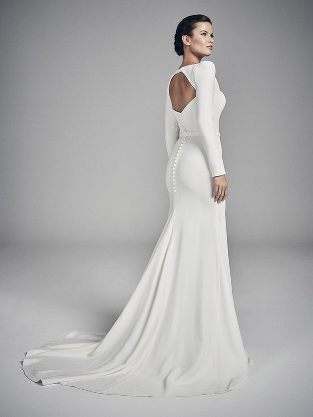 SUZANNE BRIDAL GOWN - Amelie Baku Couture