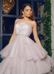 Josephine Gown-Peony Collection- By Amélie- Grey