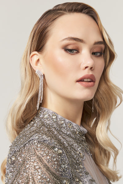 Josephine Gold Earring - Amelie Baku Couture