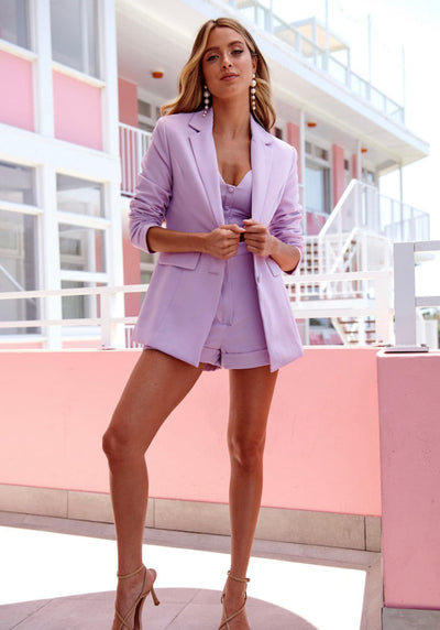 Lilac Blazer from Bloom collection