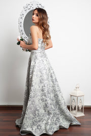 Shining Evening Gown by Amèlie - Amelie Baku Couture