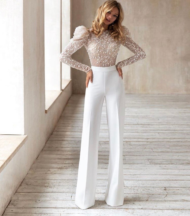 Long sleeves Adel jumpsuit