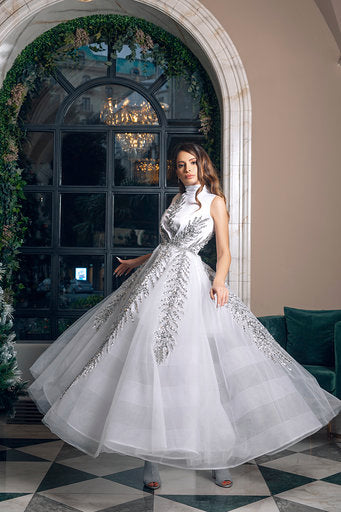 Snowflake Gown by Amelie Baku