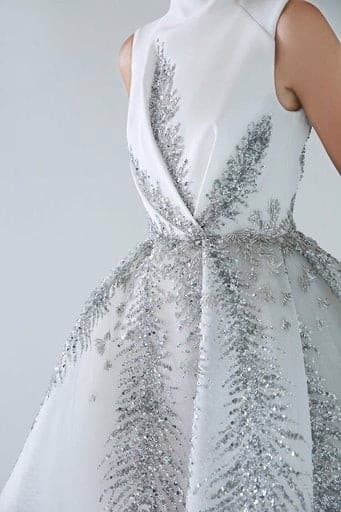 Exquisite Embroidery Bridal Gown