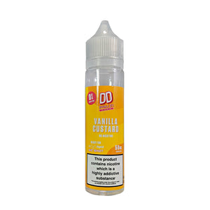 DD Double D's 10 Pack Vanilla Custard flavoured 50ml E-Liquid