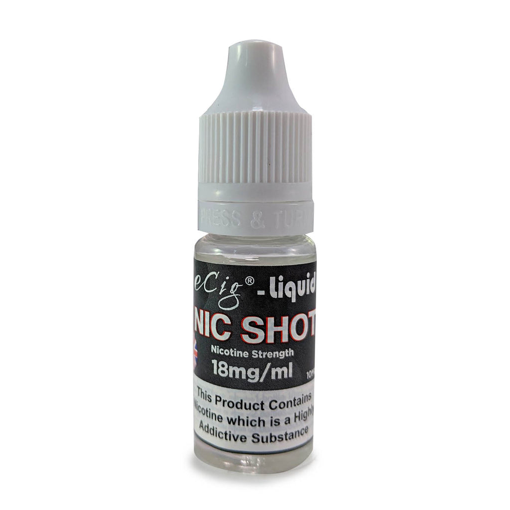 eCig-liquid NIC SHOT 10 Pack