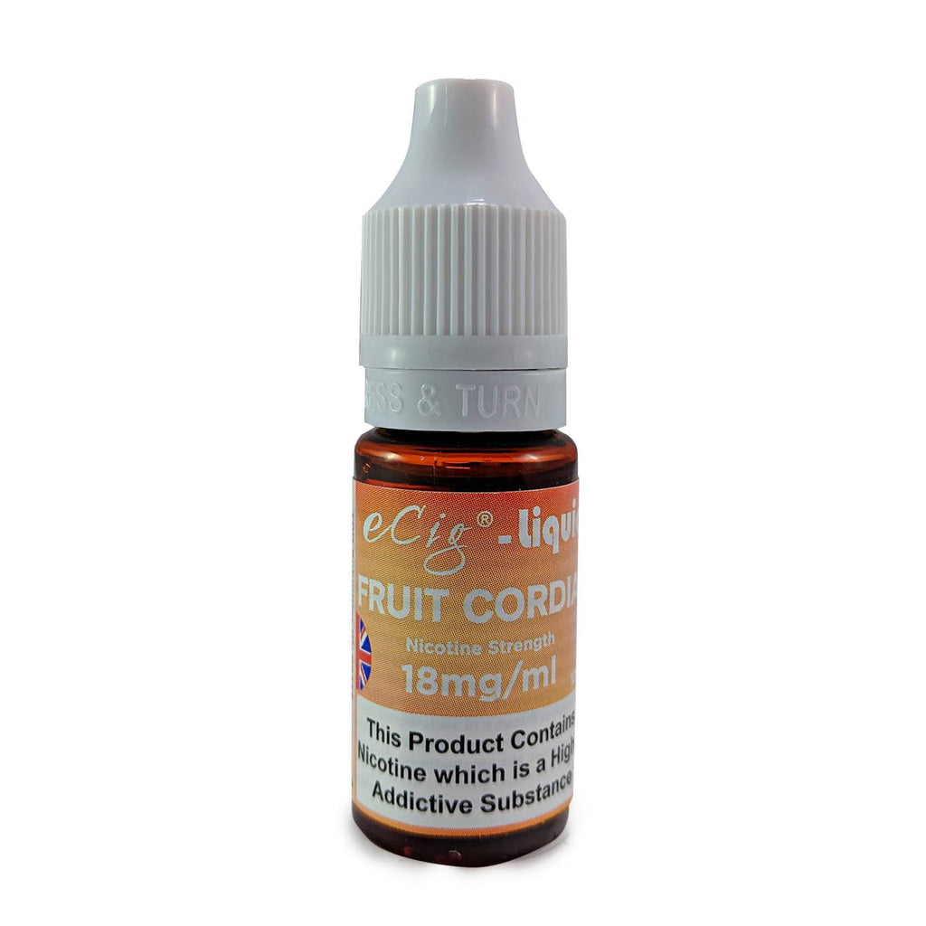 eCig-liquid Fruit Cordial 18mg 10 Pack