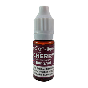 eCig-liquid Cherry 18mg 10 Pack