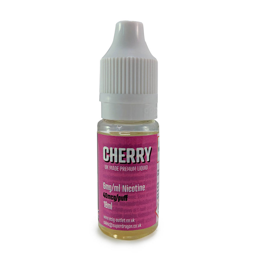eCig-liquid Cherry 6mg 10 Pack