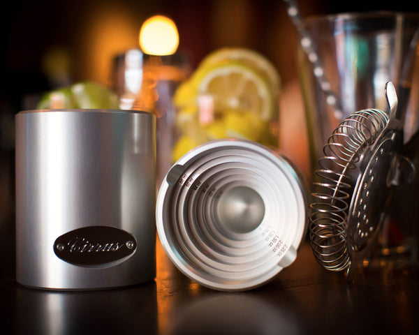 Cocktail jigger cirrus products llc for Cocktail jagger