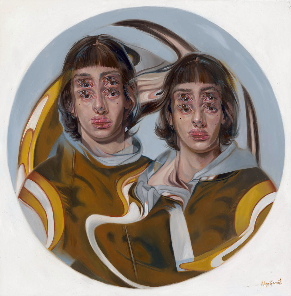 "Alex Garant - ""Marble- Golden Warlocks"""