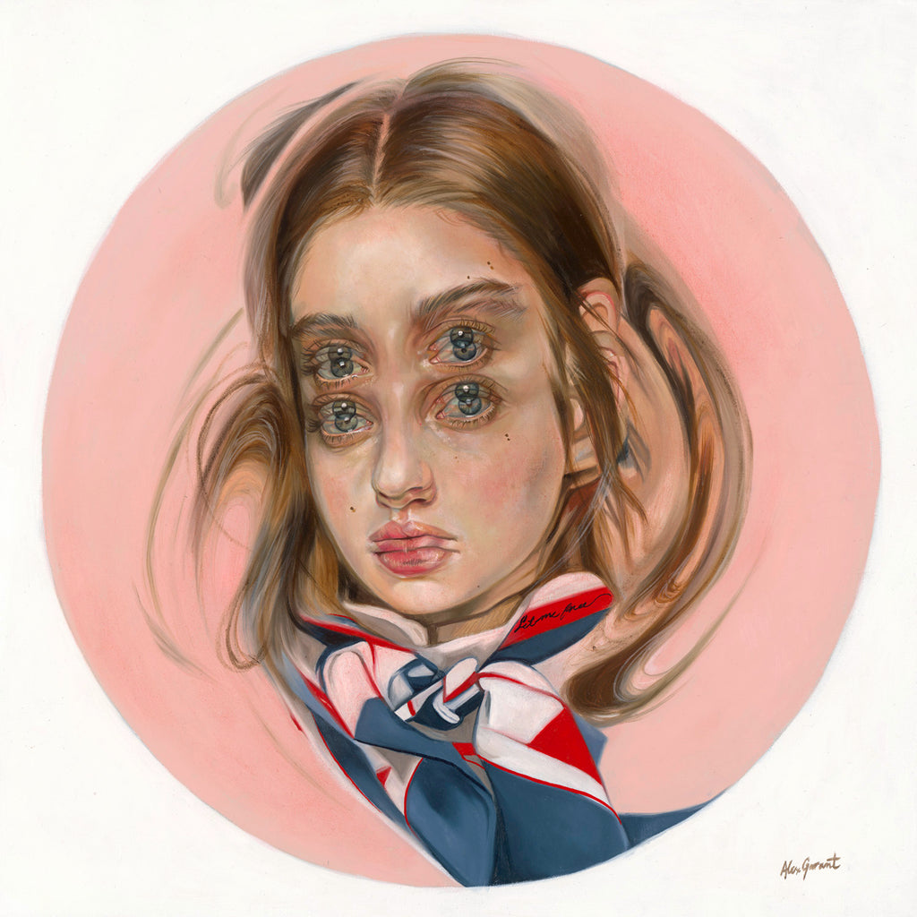 "Alex Garant - ""Marble- Powderpuff"""