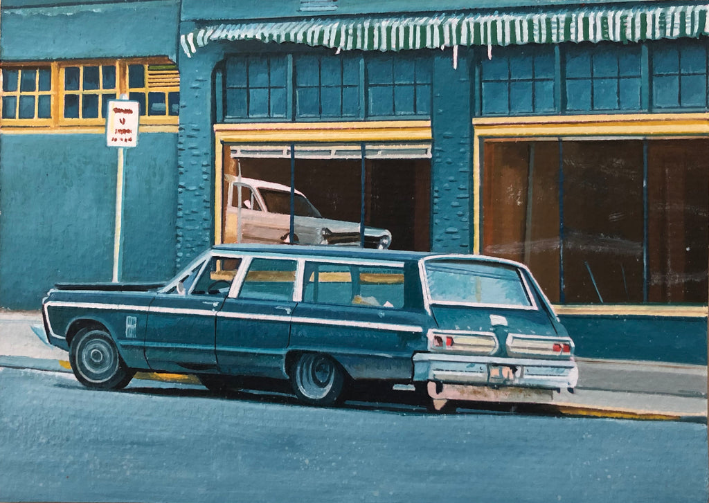 Christopher Stevens - Evergreen Station Wagon detail