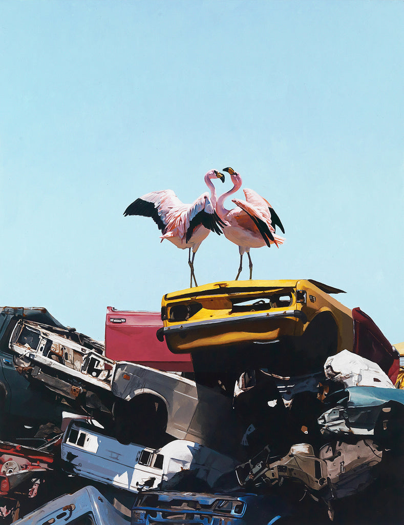 Josh Keyes - Almost Paradise Limited Edition Print