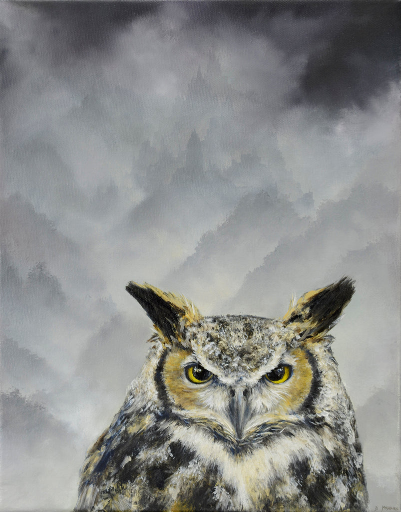 Brian Mashburn - Great Horned Owl