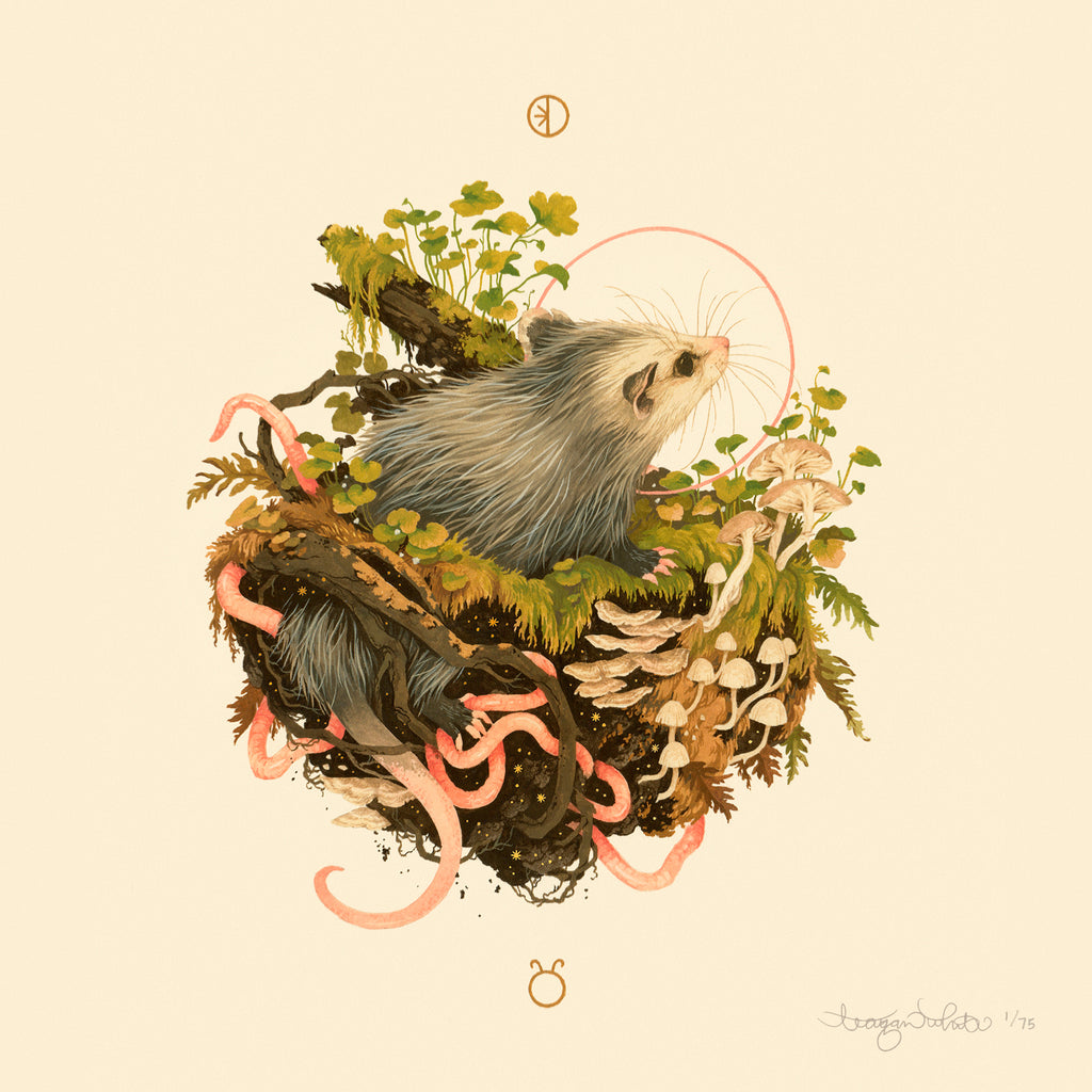 Teagan White - Ostara Limited Edition Print