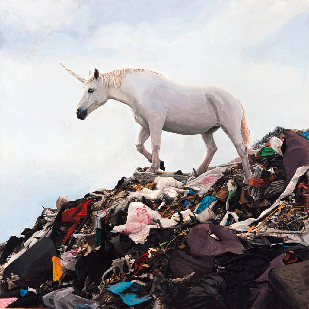 Josh Keyes - Rainbows End