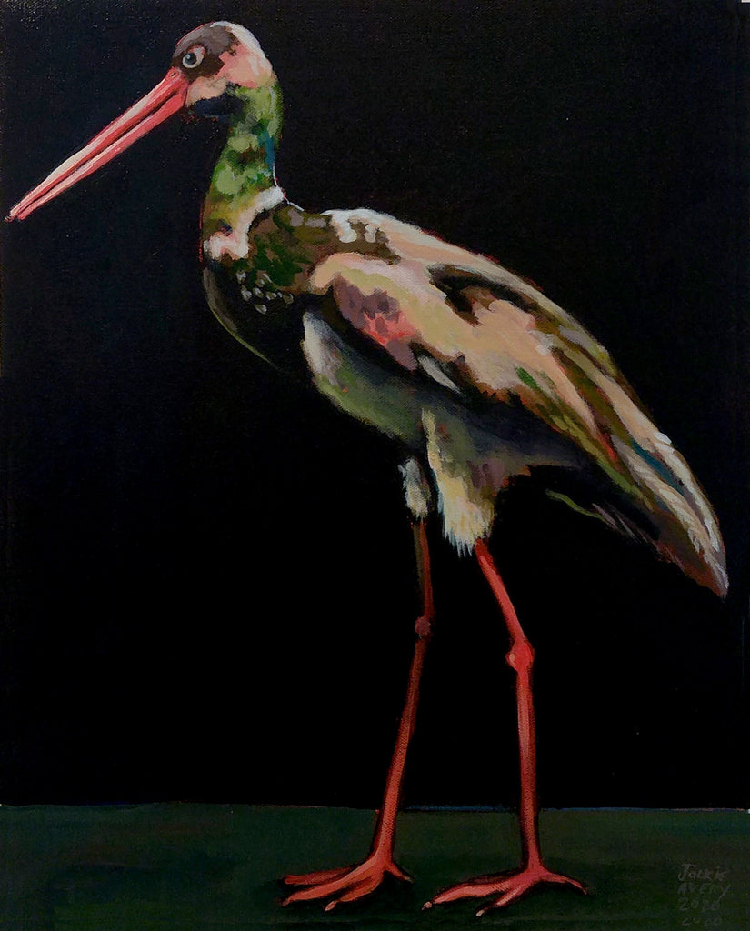 Jackie Avery - Black Stork