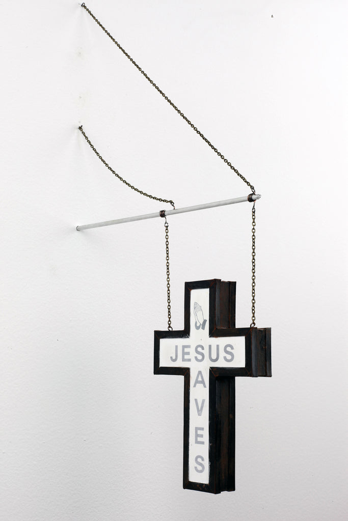 Drew Leshko - Jesus Saves (hanging)