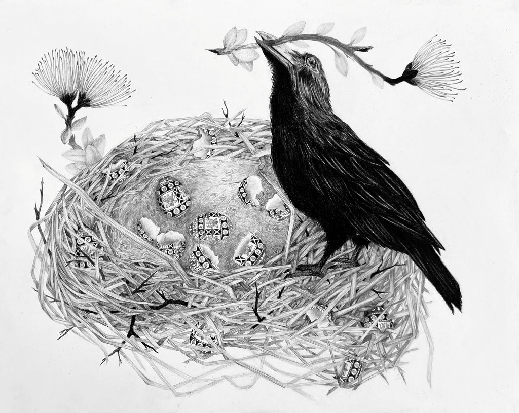 Susannah Kelly - Hawaiian Crow