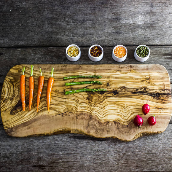 Olive Wood Serving/Carving Board - Length 50cm