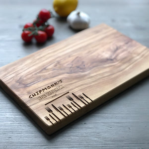 Personalised 'New Kitchen/Home' Serving Board