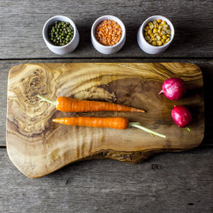 Rustic Olive Wood Cheese/Chopping Board