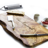 Personalised Olive Wood Serving Board