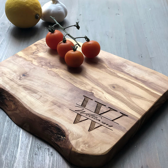 Personalised Monogram Cheese Board