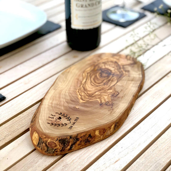 Personalised Cheese Board - Wedding / Anniversary Gift