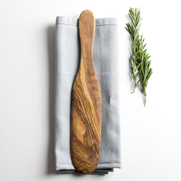 Traditional Olive Wood Pancake/Omelette Spatula