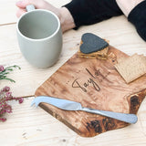 "Personalised Rustic ""Wedding Gift"" Cheese Board"