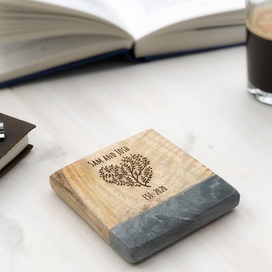 Personalised Coffee Tea Wine Coaster