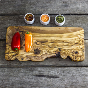 Olive Wood Cheese/Chopping Board - 40 x 16 x 2cm