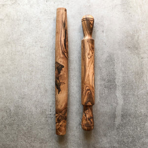 Traditional Olive Wood Rolling Pin