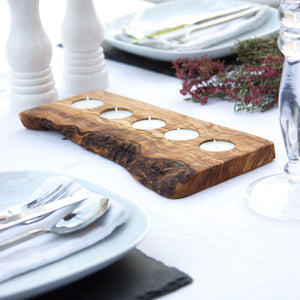 Contemporary Wooden Tealight Holder