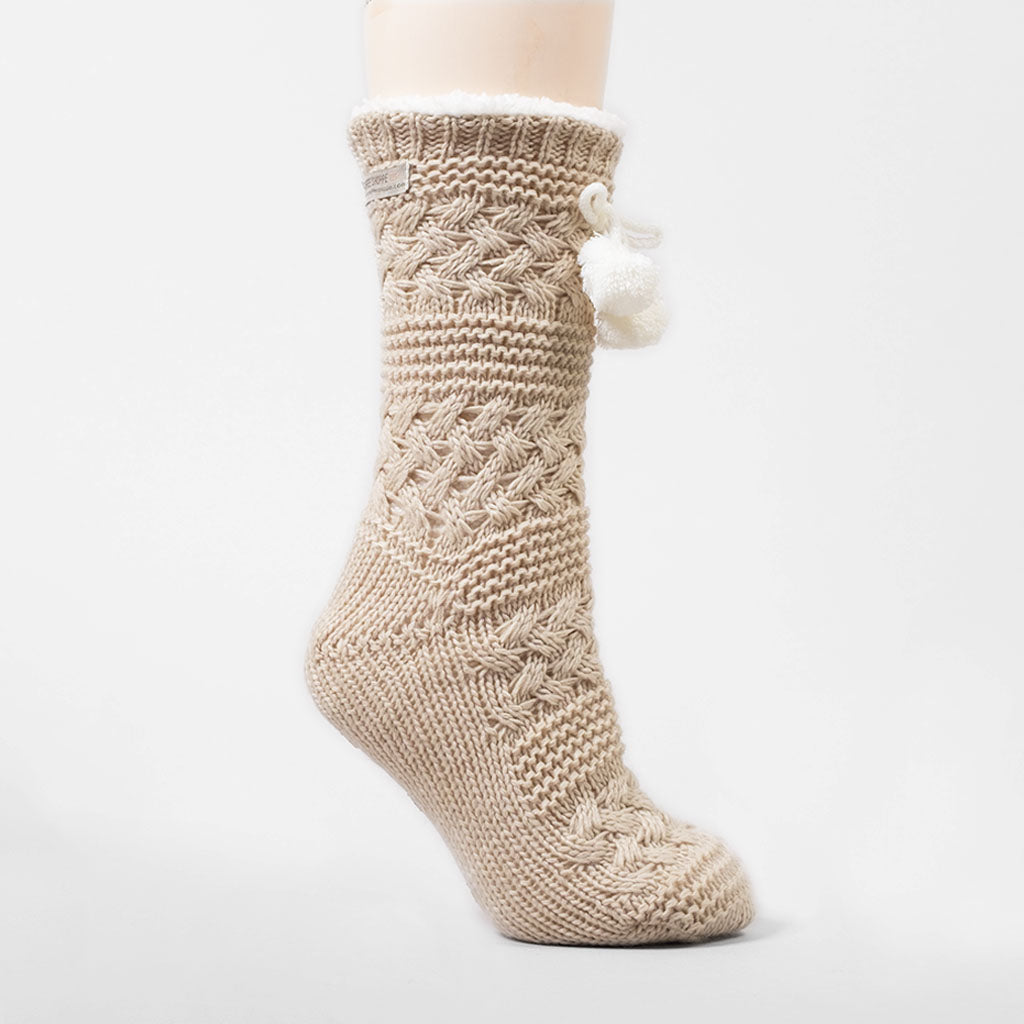 The Classic Lounge Sock - Oatmeal