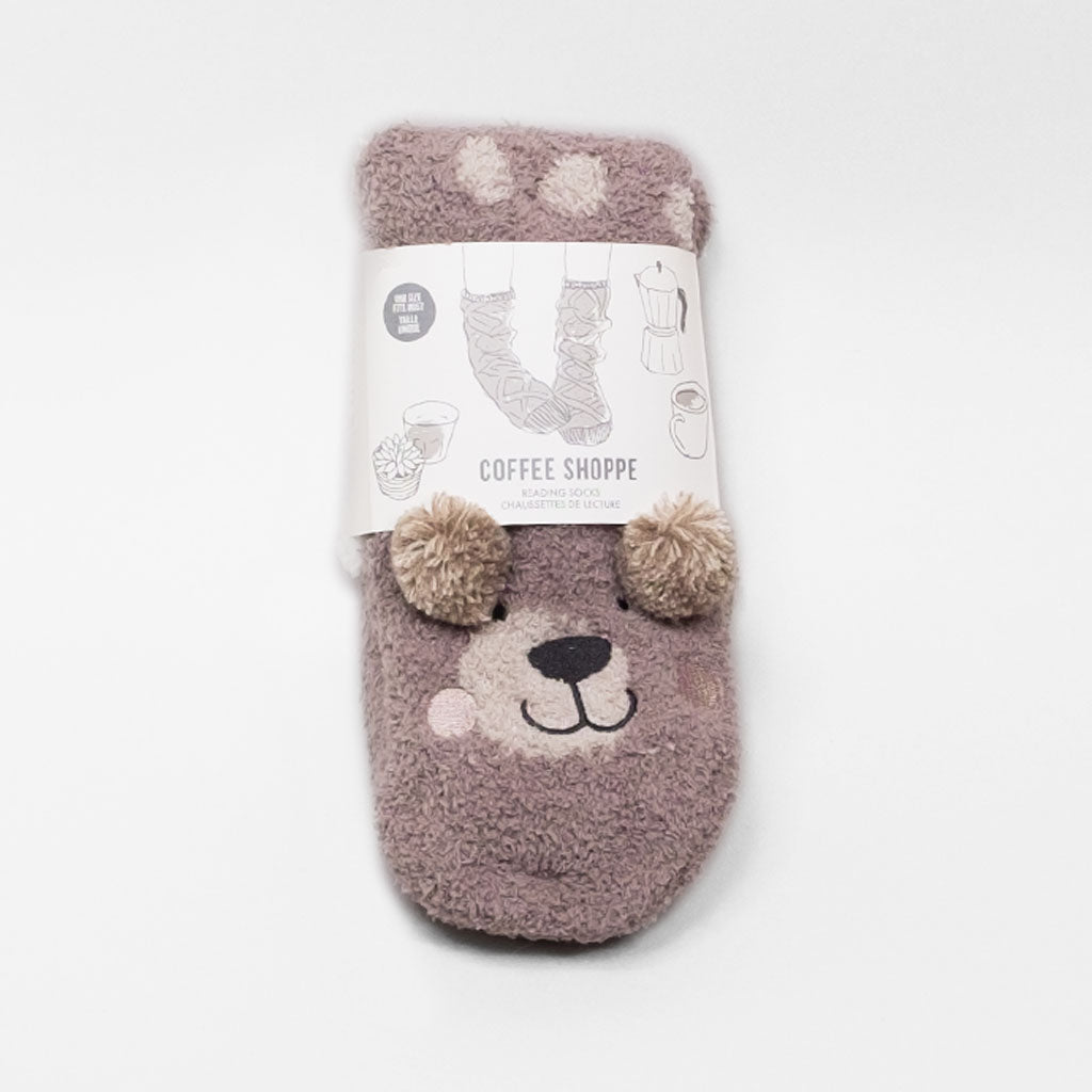 Companion Lounge Sock - Bear (Oatmeal)